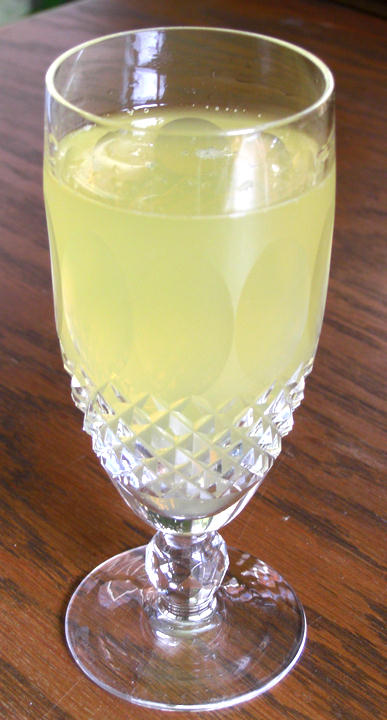 Ginga Likrish Champagne Cocktail