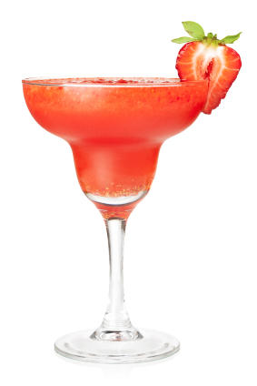 SKINNY Strawberry Margarita