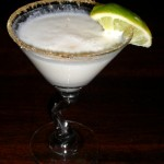 Key Lime Martini a la Houlihan's