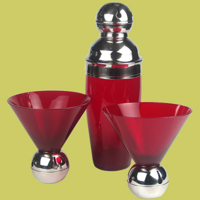 jingle bell cocktail shaker set