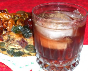 Christmas Cake cocktail