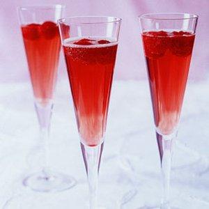 Seduction Champagne Cocktail