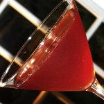 saint valentine martini cocktail