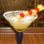 pineapple margarita cocktail
