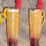 linzer torte cocktail