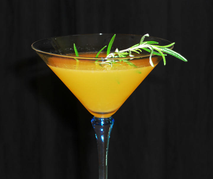 Rosemary Citrus Martini