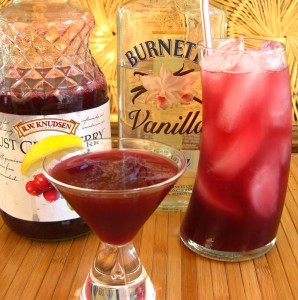 Peppy Vanil SKINNY Cocktail