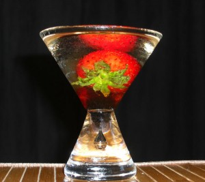 Balsamic Vinegar Martini