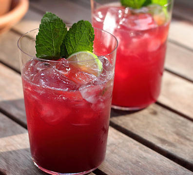 Pink Grapefruit And Pomegranate Soda Recipes — Dishmaps