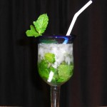 ginger mojito cocktail