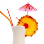 pina colada mocktail