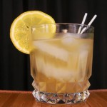 skinny whiskey sour cocktail