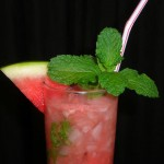 watermelon mojito cocktail
