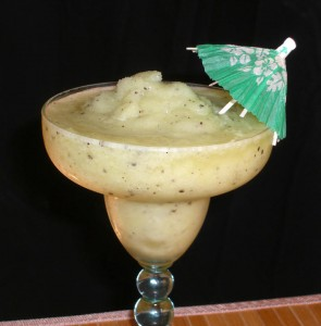 SKINNY Frozen Kiwi Margarita