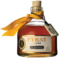 pyrat's sin rum champagne cocktail