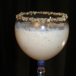 toasted almond blended ice cream frozen cocktail