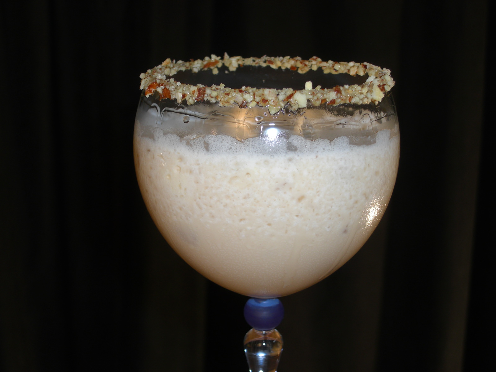 Toasted Almond Blended Ice Cream Cocktail