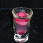 sherbet shot shooter chocolate vodka pomegranate
