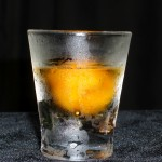 Sherbet Shot shooter Spiced Rum with Mango