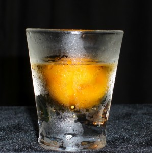 Sherbet Shot – Spiced Rum with Mango
