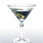 Blue Ice Vodka Martini