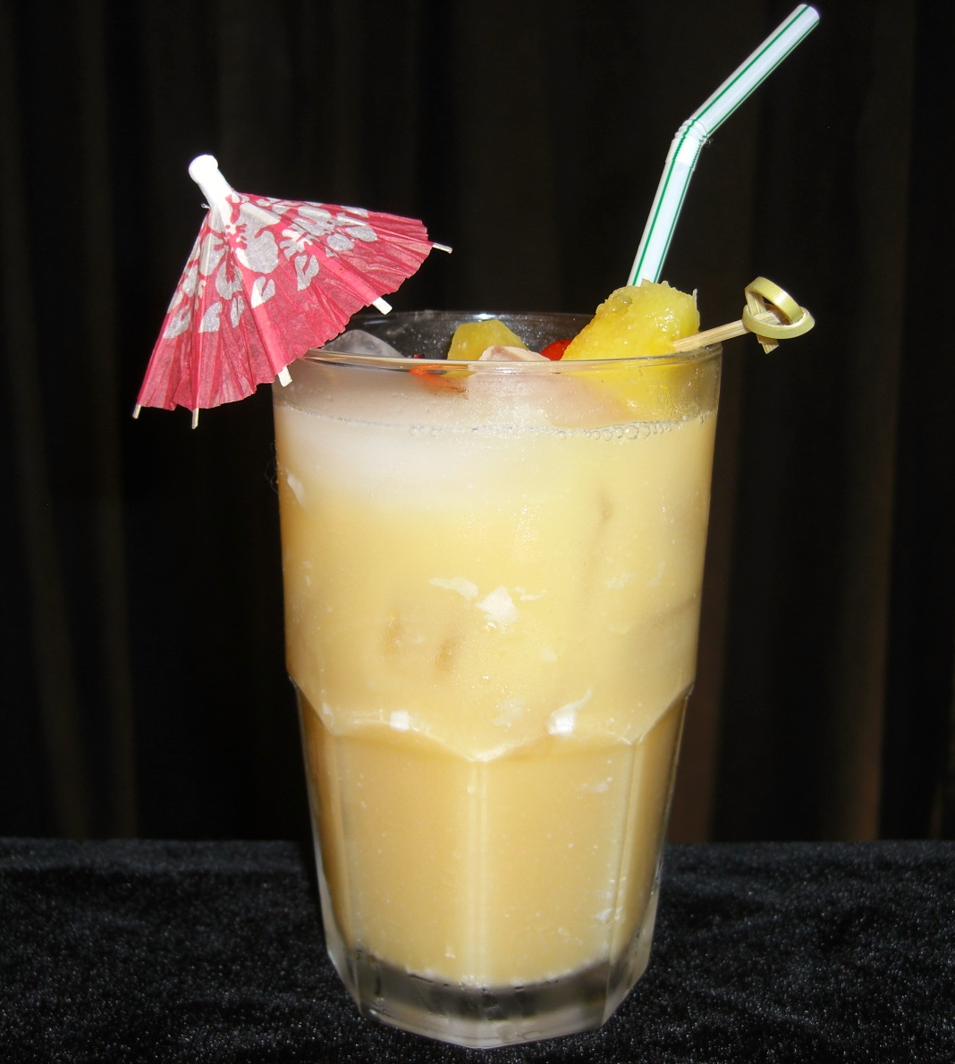 Pussers Rum Painkiller Drink