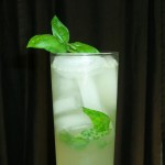 Skinny Pineapple Basil Cocktail