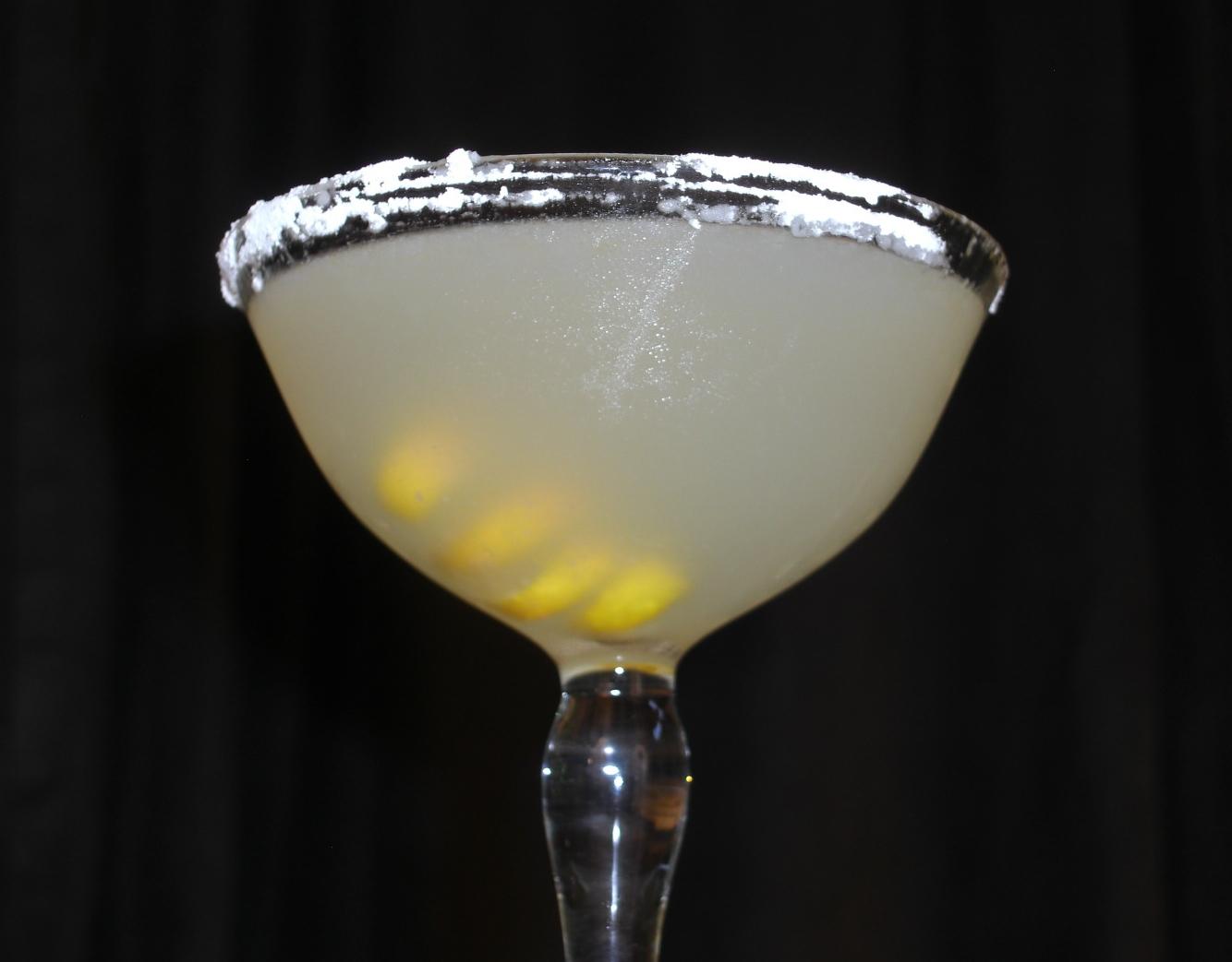 Orgasmic Lemon Drop Martini