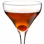 Wild Turkey bourbon manhattan