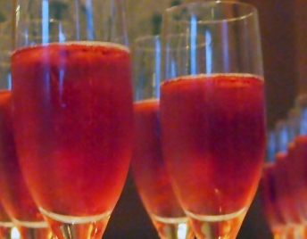 Double Health Champagne Cocktail