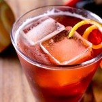 Boulevardier Whiskey Negroni