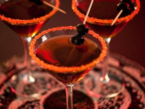 Black Devil Martini